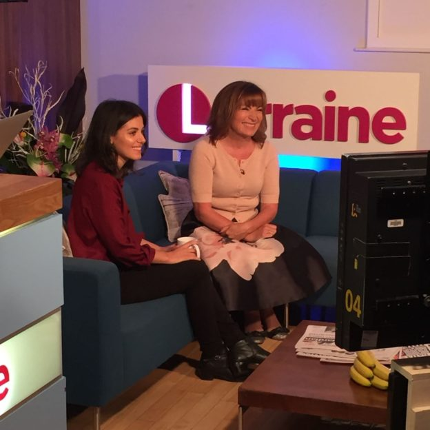 Interview with Lorraine on ITV